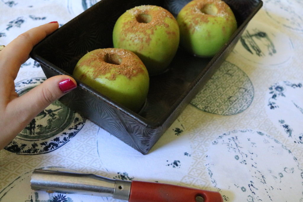 Byrd and Bean Baked Apples