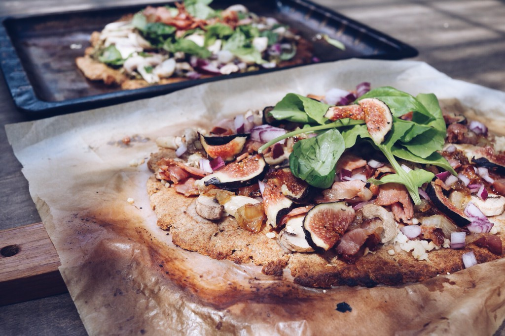 Byrd and Bean Spelt Bricolage Flatbread